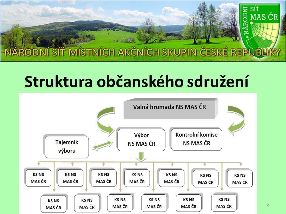 Struktura občanského sdružení 6