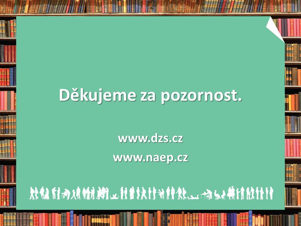 Děkujeme za pozornost. www.dzs.czwww.naep.cz