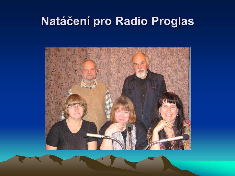 Natáčení pro Radio Proglas