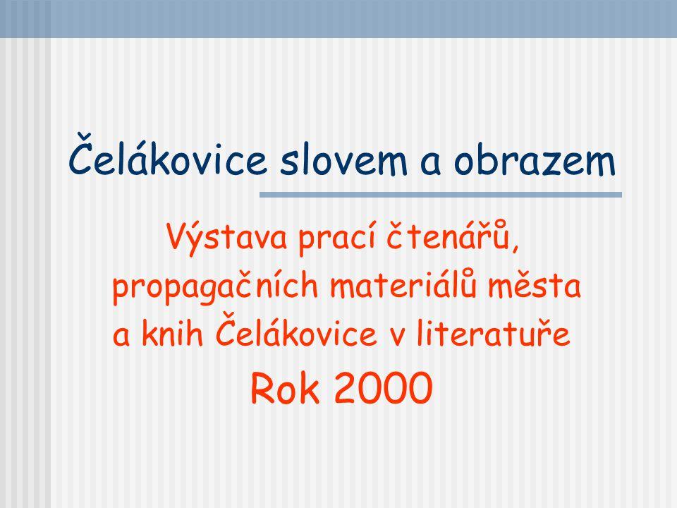 Fotografie Miroslava Břeského Městská knihovna Čelákovice Týden knihoven rok 1999