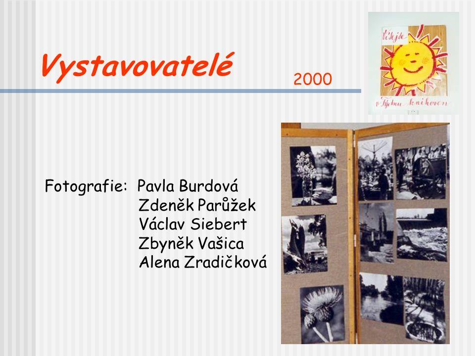 Čelákovice slovem a obrazem Výstava prací čtenářů, propagačních materiálů města a knih Čelákovice v literatuře Rok 2000