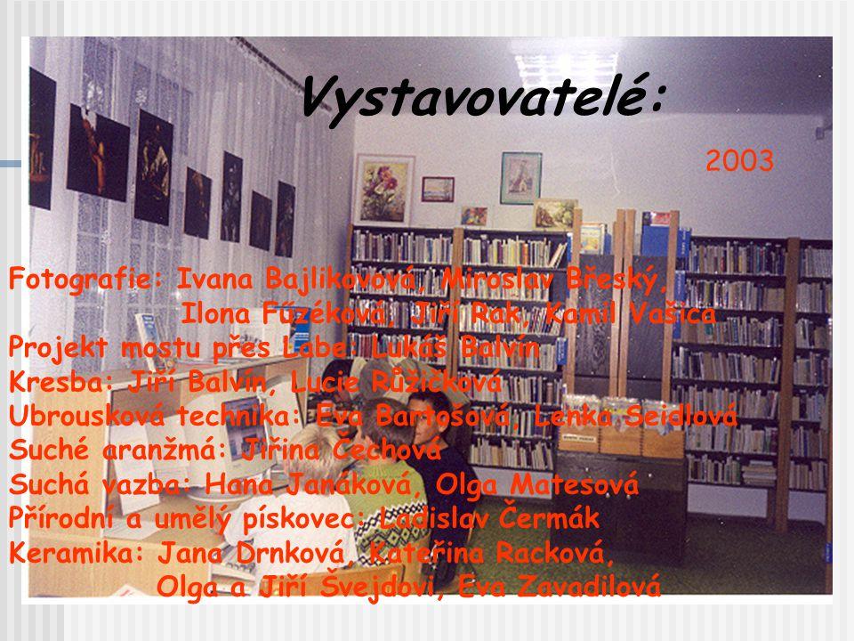 Rok 2003 - PODZIM … a opět Týden knihoven a výstava prací čtenářů