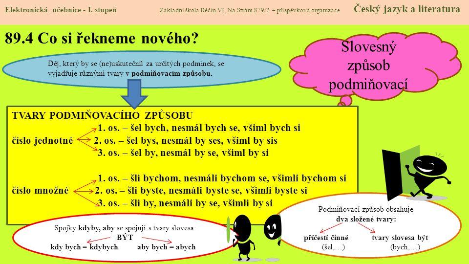 89.5 Procvičení Elektronická učebnice - I.