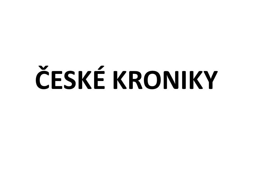 ČESKÉ KRONIKY