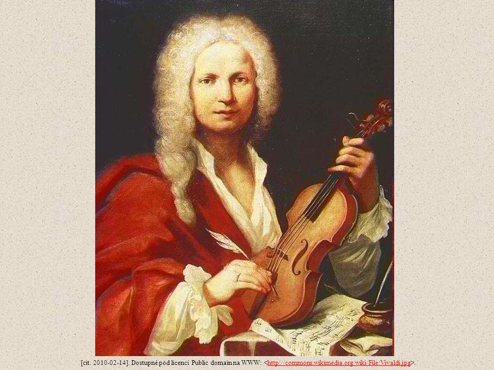 [cit. 2010-02-14]. Dostupné pod licencí Public domain na WWW:.http://commons.wikimedia.org/wiki/File:Vivaldi.jpg