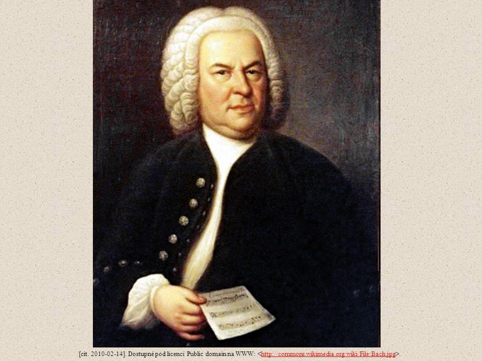 [cit. 2010-02-14]. Dostupné pod licencí Public domain na WWW:.http://commons.wikimedia.org/wiki/File:Bach.jpg