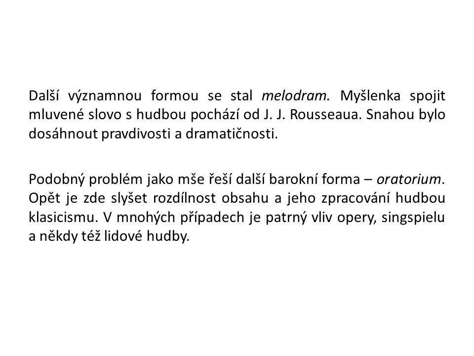 Doporučený poslech 1.W.A. Mozart: Figarova svatba 2.W.