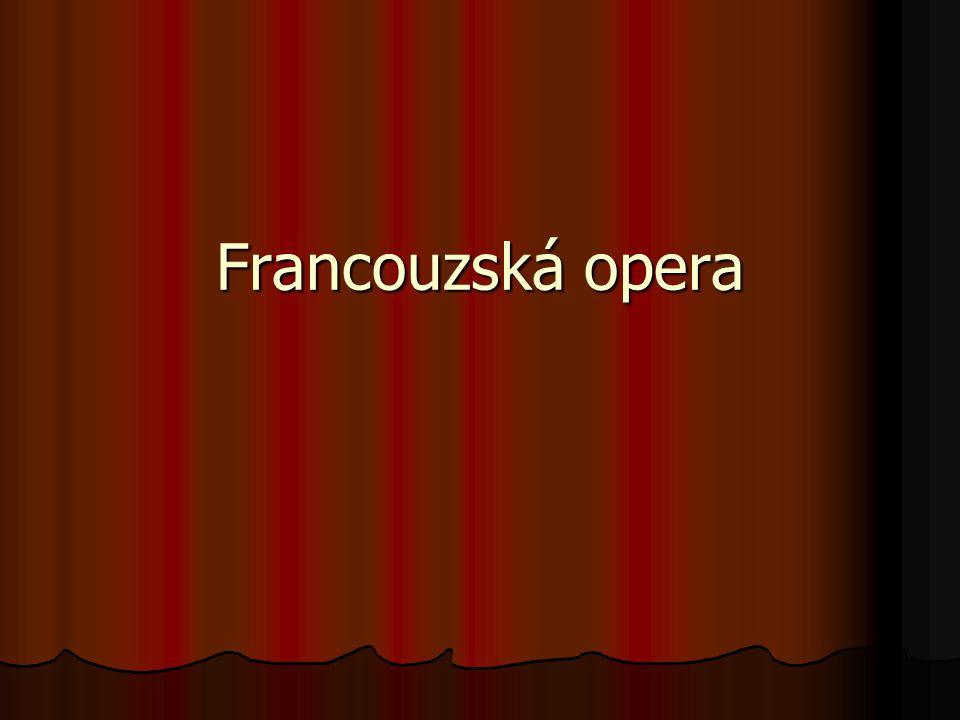 Francouzská opera