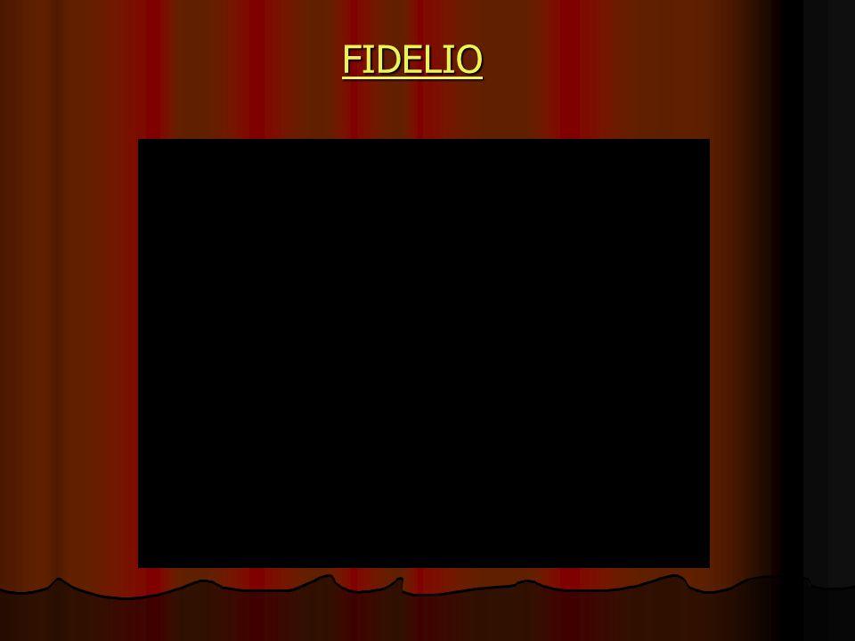 Vyvrcholením této etapy v operní historii je Fidelio jediná opera jejímž autorem je LUDVIG VAN BEETHOVEN LUDVIG VAN BEETHOVEN obr.2