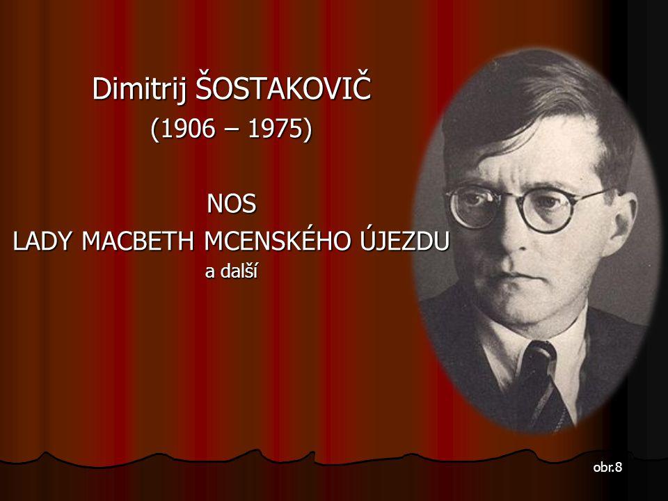 "Sergej PROKOFJEV Sergej PROKOFJEV (1891 – 1953) ""Revolucionář hudby"" odešel po komunistické revoluci z Ruska a žil ve Francii, USA a Německu. Patří k"