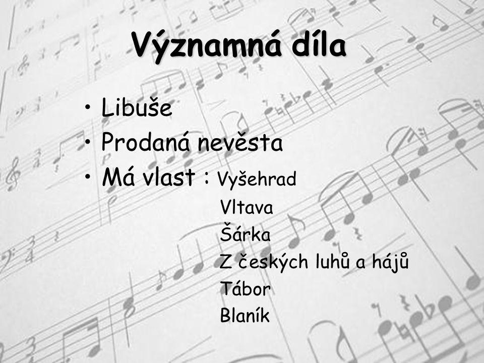 Život narodil se po 10 dcerách v Litomyšli 2.března 1824 od svých 4 let se věnoval hudbě učil se na housle a později na klavír po základní škole nastoupil na gymnázium v Plzni