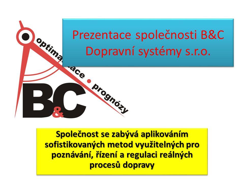B&C Dopravní systémy s.r.o.22 Praktická ukázka SW OPTIM + SW STANDARD