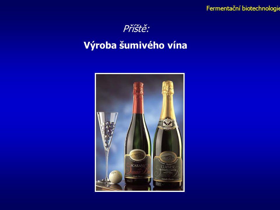 Fermentační biotechnologie Příště: Výroba šumivého vína