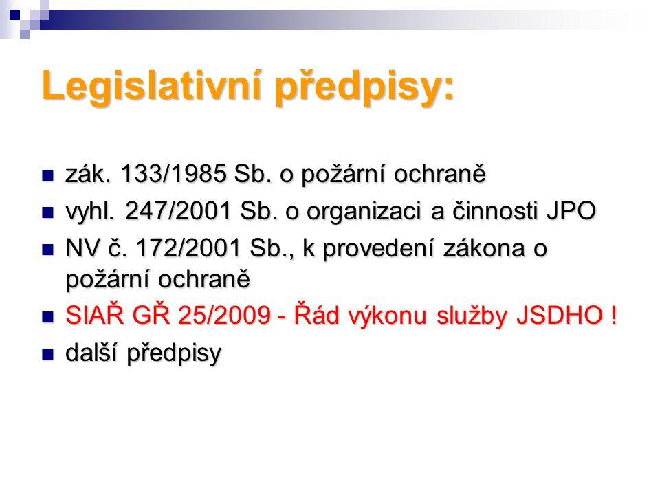 zák.133/1985 Sb. o požární ochraně zák. 133/1985 Sb.