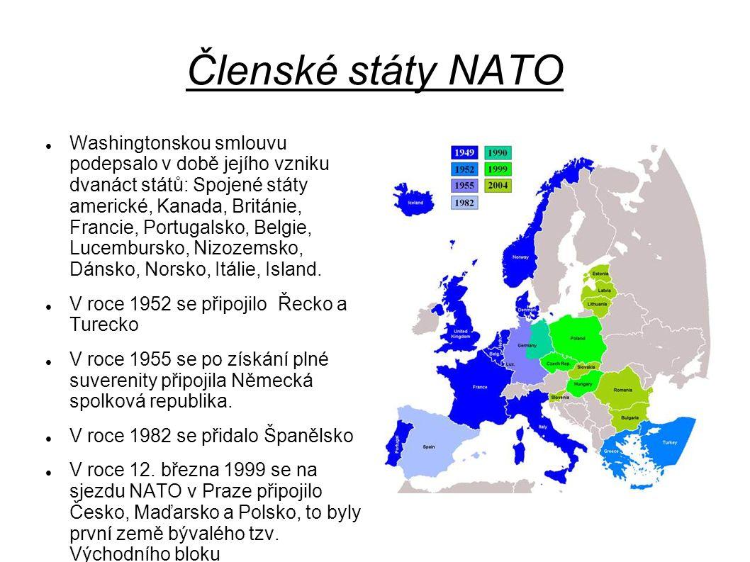 V roce 2004 se v největší vlně rozšiřování NATO připojilo dalších sedm států východní Evropy: Litva, Lotyšsko, Estonsko, Rumunsko, Bulharsko, Slovinsko a Slovensko.