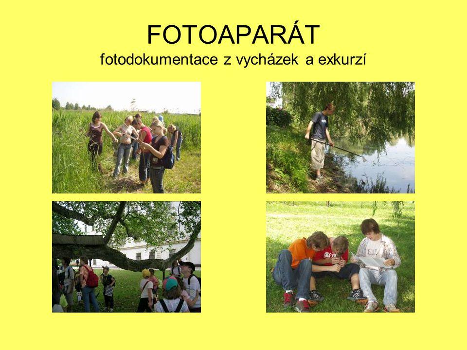 PŘÍLEŽITOSTI pobyty v přírodě projekt Les ve škole – škola v lese