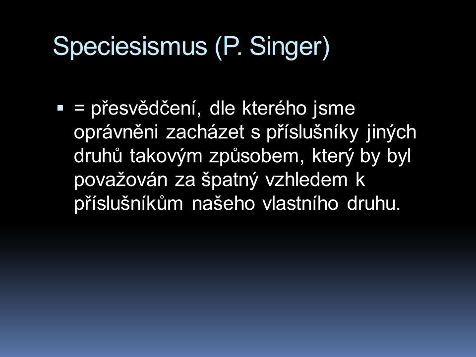 Speciesismus (P.