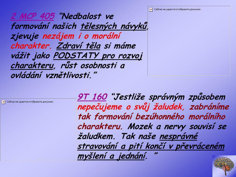 MM 291 Abychom měli zdravý mozek, musíme mít čistou krev.