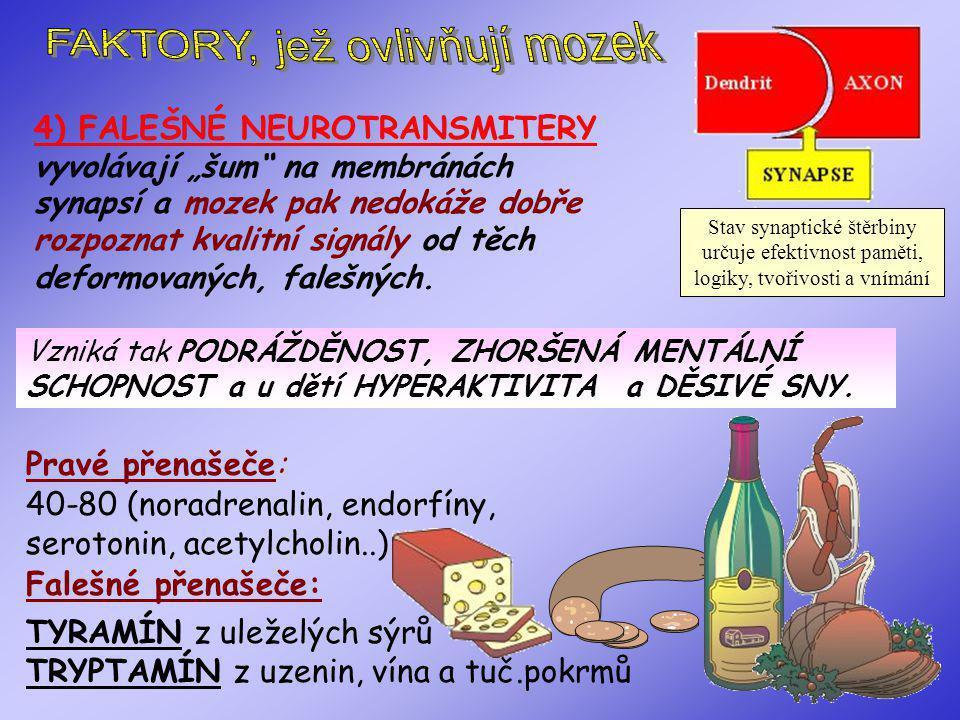 Alzheimerova choroba, Roztroušená skleróza, Zhoršuje POŠKOZENÍ MOZKU a NERVOVÉHO SYSTÉMU : Creutzfeld-Jakobova nemoc, Demence, Nádory, Mrtvičky, Aneurisma, poškození mozku volnými radikály...