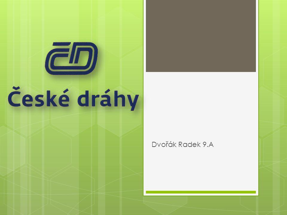 Popis ČD  České dráhy jsou národní železniční společnost v České republice.
