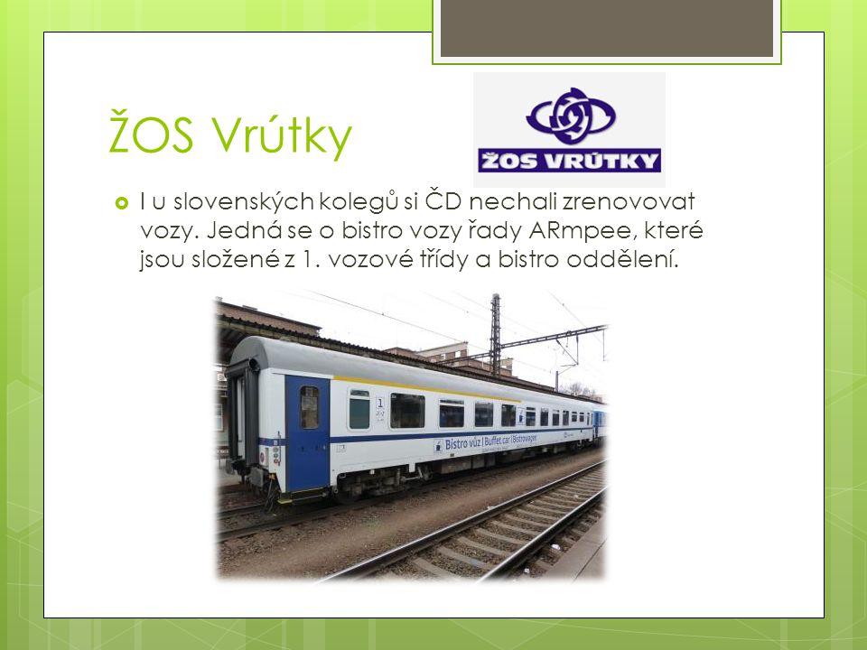 Pars nova Šumperk  V Šumperku si ČD nechali zrekonstruovat vozy pro zlepšení dálkových spojů.