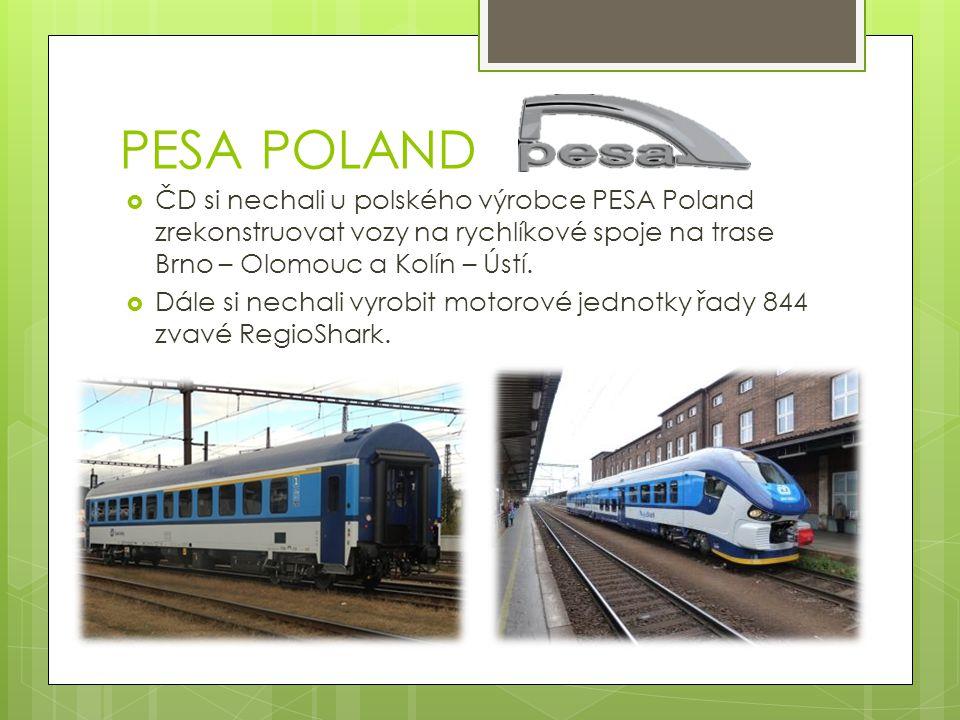 ŽOS Vrútky  I u slovenských kolegů si ČD nechali zrenovovat vozy.