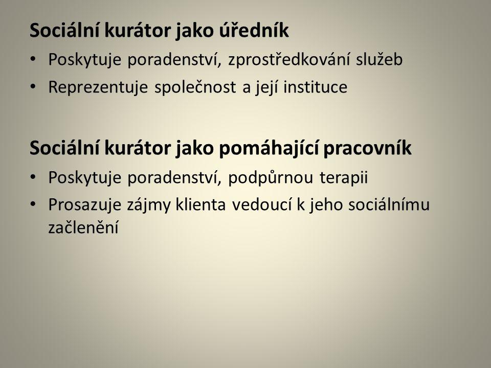 Oblasti spolupráce V průběhu VTOS -K zajištění záležitostí v místě bydliště (rodina, byt) -Příprava na propuštění (doklady, zázemí) Po propuštění -K zajištění sociálního zázemí -K zajištění materiálních potřeb (zaměstnavatel, finance, bydlení, aj.) -Vedoucí k sociální změně (poradenství, terapie) -K zajištění sociální kontroly (PMS, soudy)