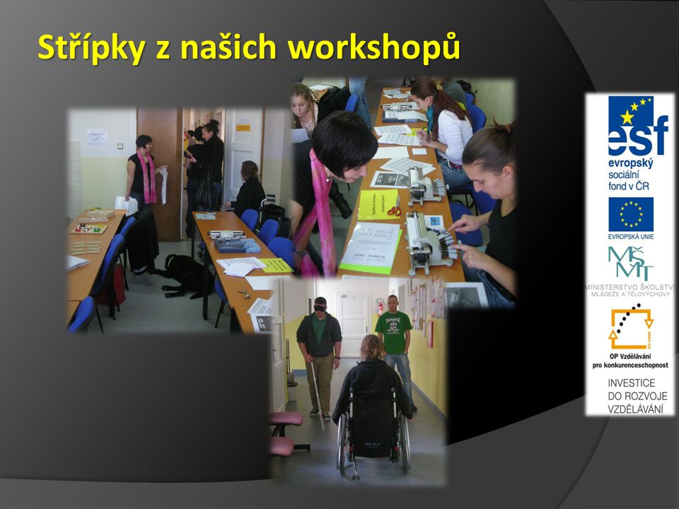 Střípky z našich workshopů