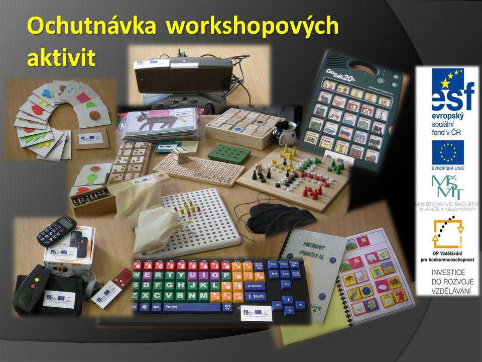 Ochutnávka workshopových aktivit