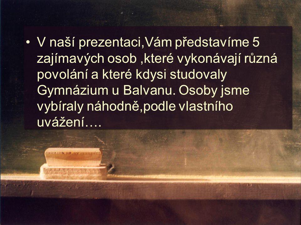 Pavel Žur Naše gymnázium studoval i ředitel divadla, politik a sbormistr dětského pěveckého sboru Vrabčáci Pavel Žur.