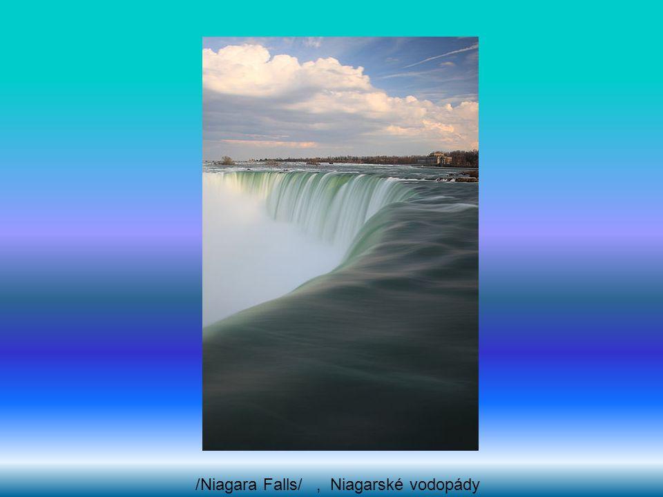 /Niagara Falls/, Niagarské vodopády