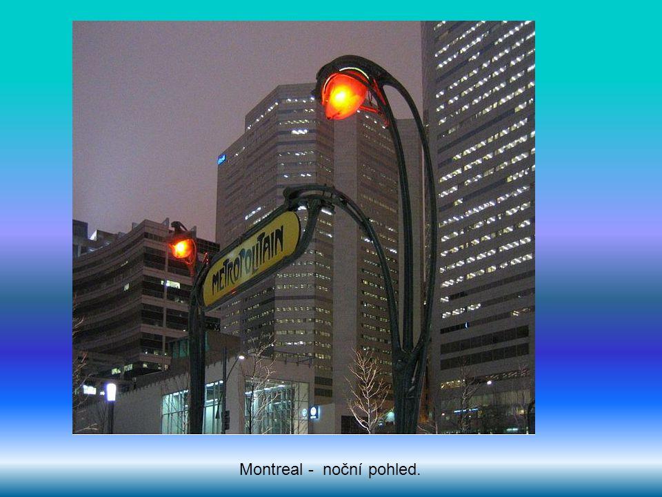 Montreal - noční pohled.