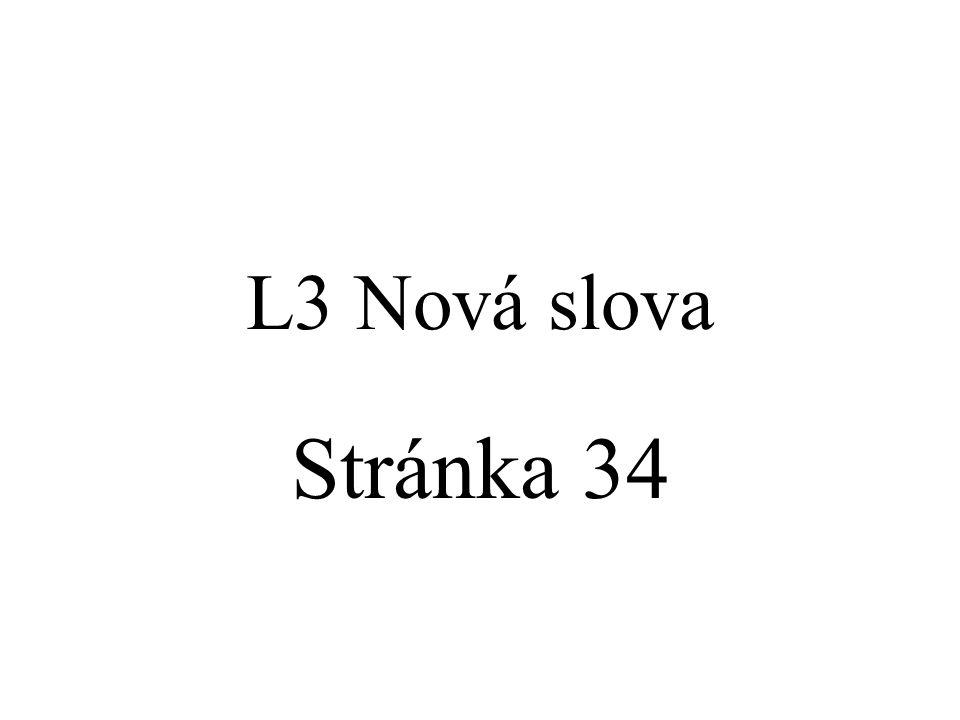 L3 Nová slova Stránka 34