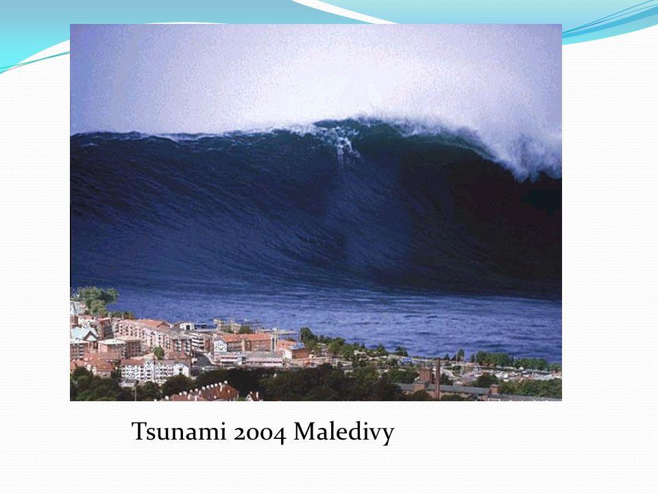 Tsunami 2004 Maledivy