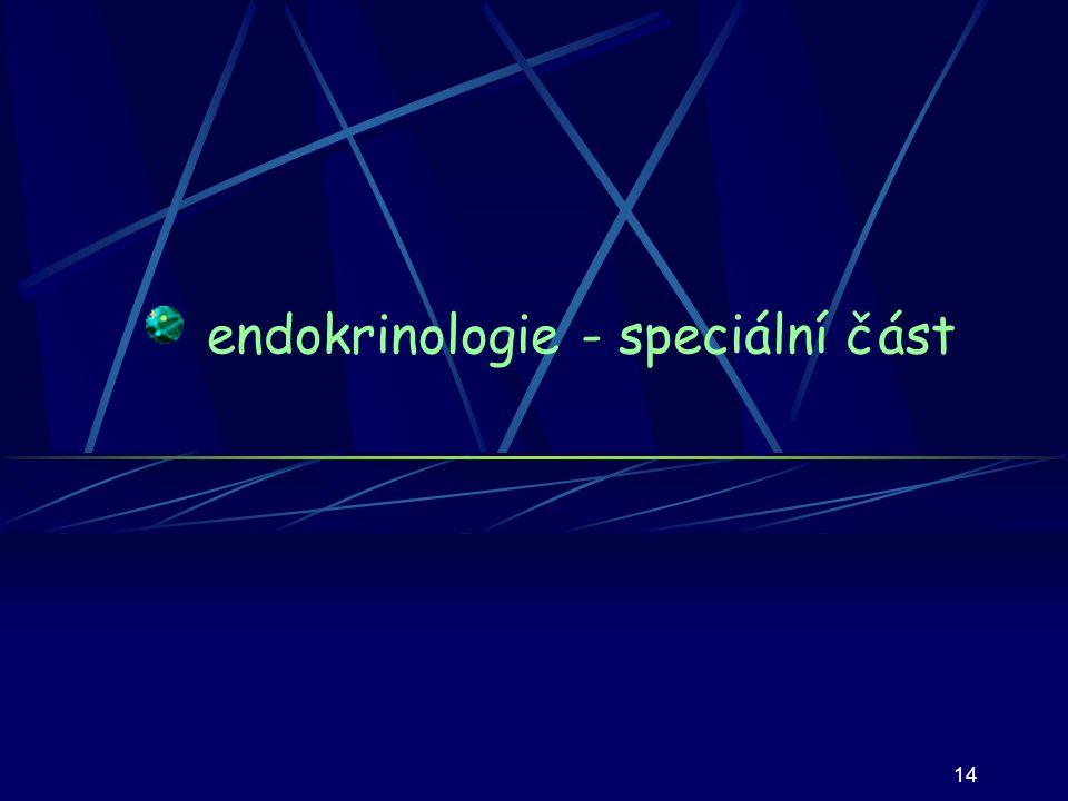 14 endokrinologie - speciální část