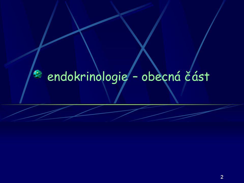 2 endokrinologie – obecná část