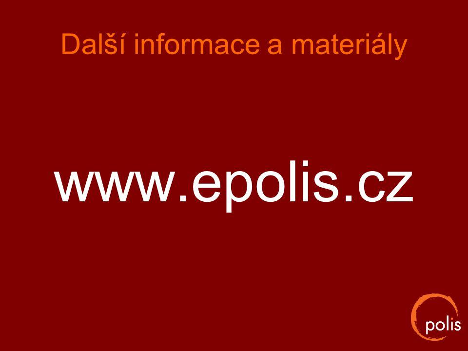 Další informace a materiály www.epolis.cz
