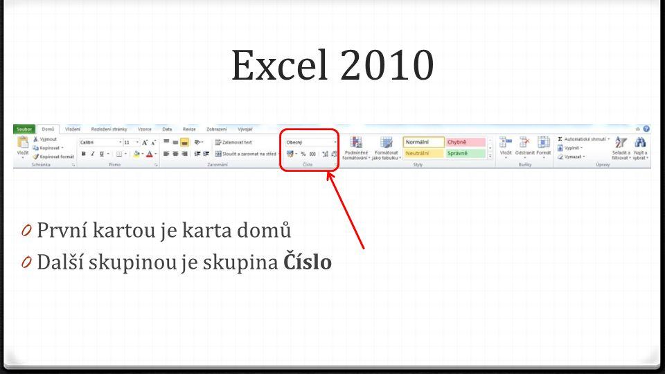 Excel 2010 0 Máme-li vybránu buňku nebo oblast buněk, ve kterých se vyskytují čísla, pak klikáním na tuto ikonu odebíráme ze zobrazení desetinné číslo (POZOR, číslo se nezaokrouhluje, pouze se zobrazuje na méně desetinných míst) Před kliknutímPo kliknutí