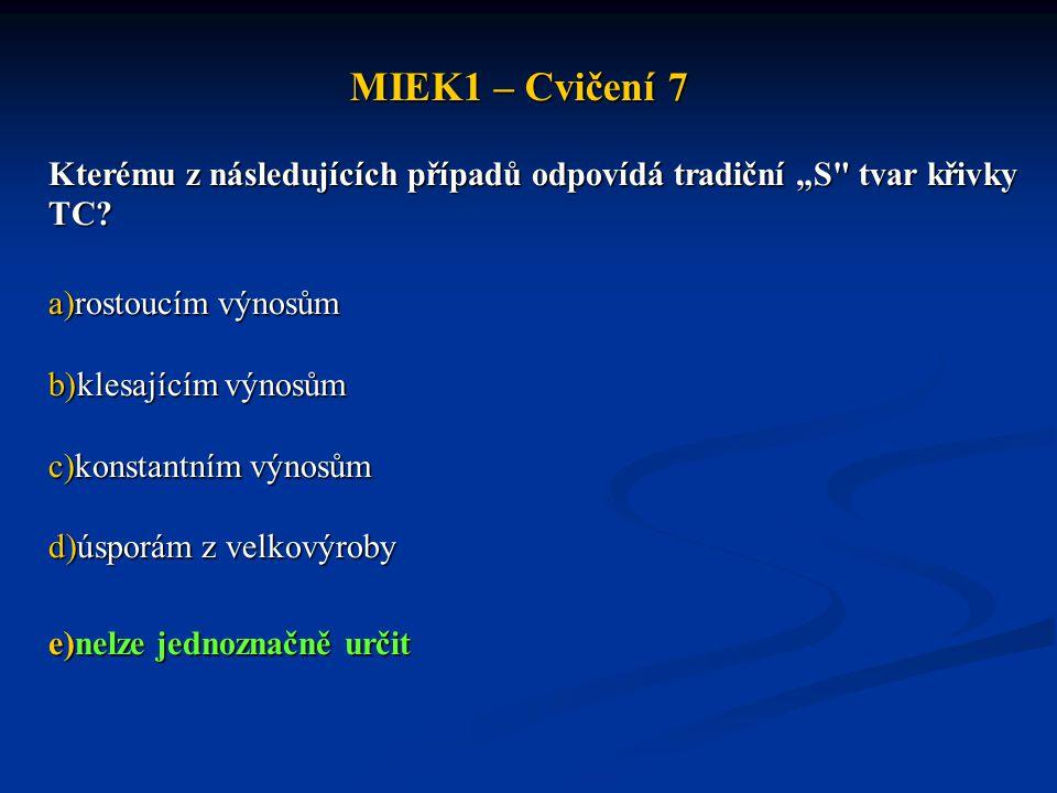 """MIEK1 – Cvičení 7 Kterému z následujících případů odpovídá tradiční """"S"""