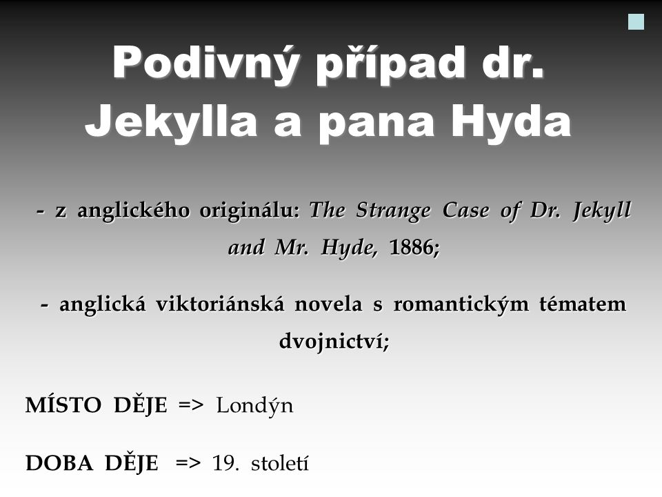 POSTAVY => dr.