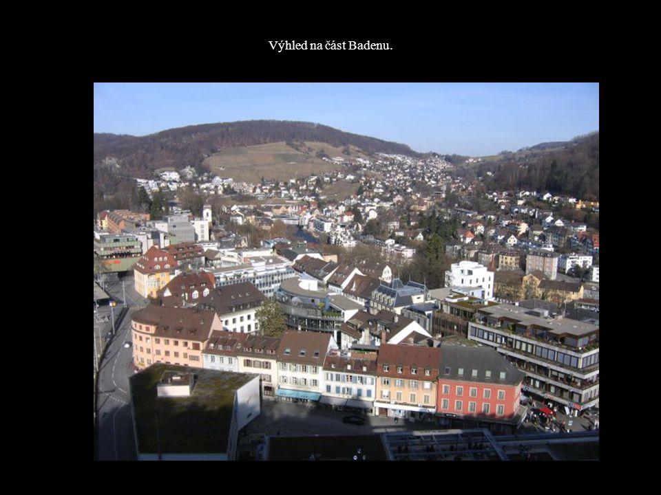 Výhled na část Badenu.