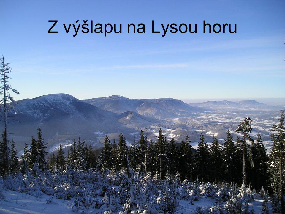 Z výšlapu na Lysou horu