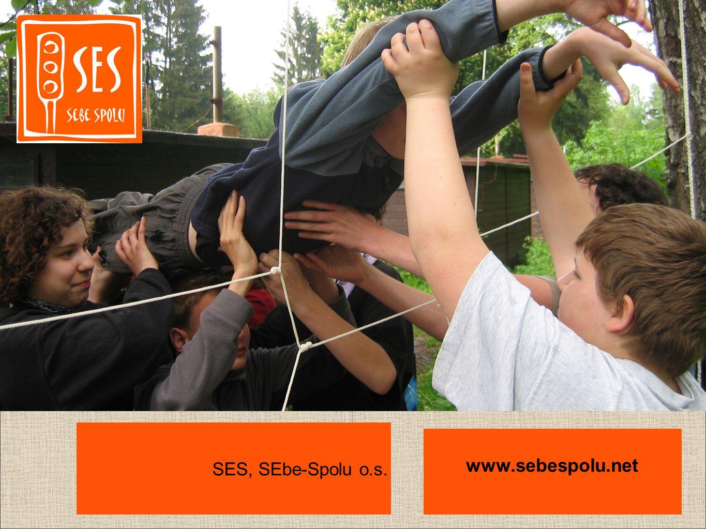 SES, SEbe-Spolu (SES) je občanské sdružení, které pracuje v oblastech: vzdělávání a výchovy: kurzy pro školní kolektivy pomoci mladým lidem v těžkých životních situacích (např.