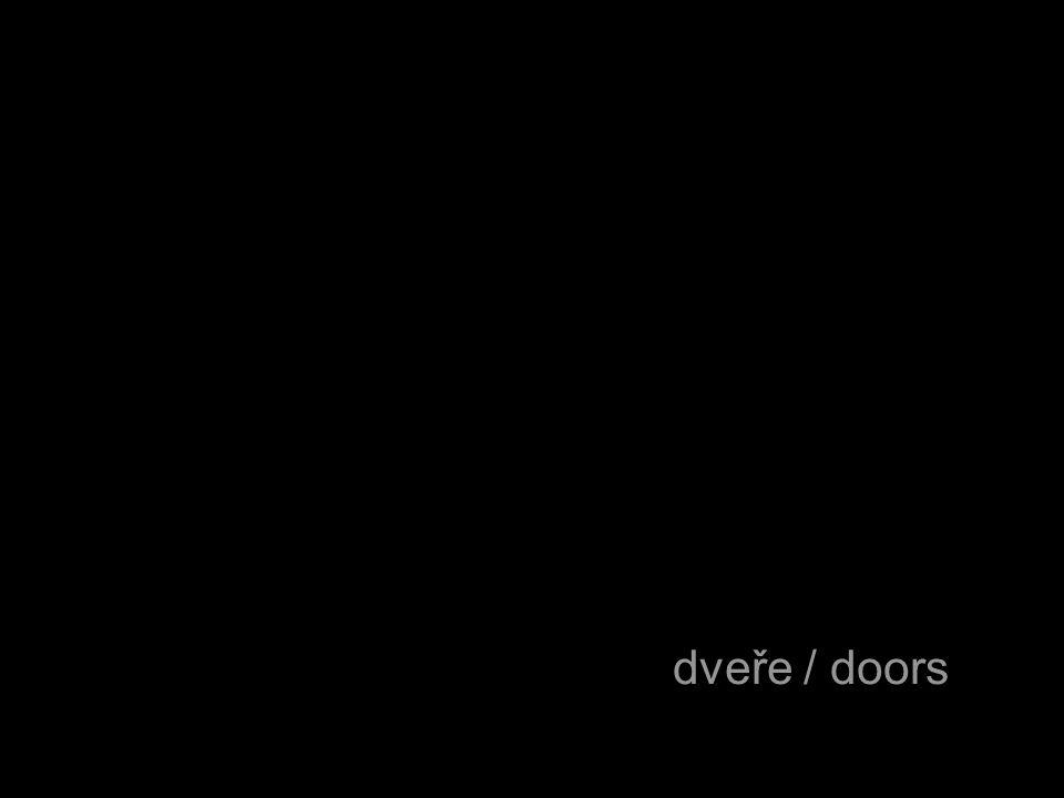 dveře / doors