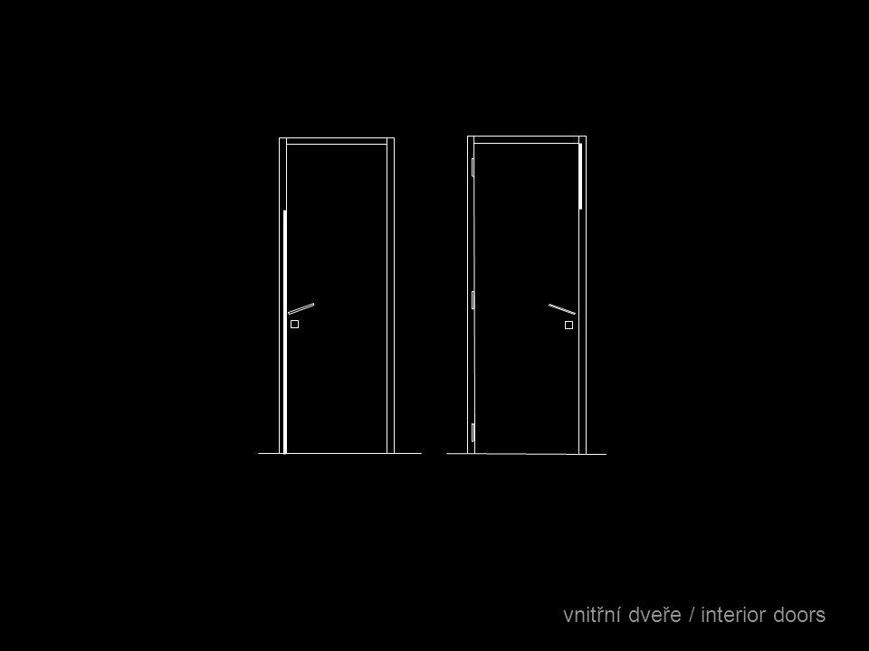 vnitřní dveře / interior doors