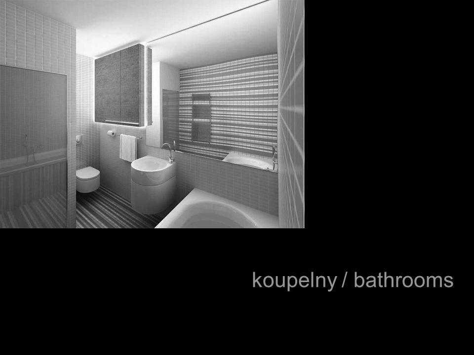 koupelny / bathrooms