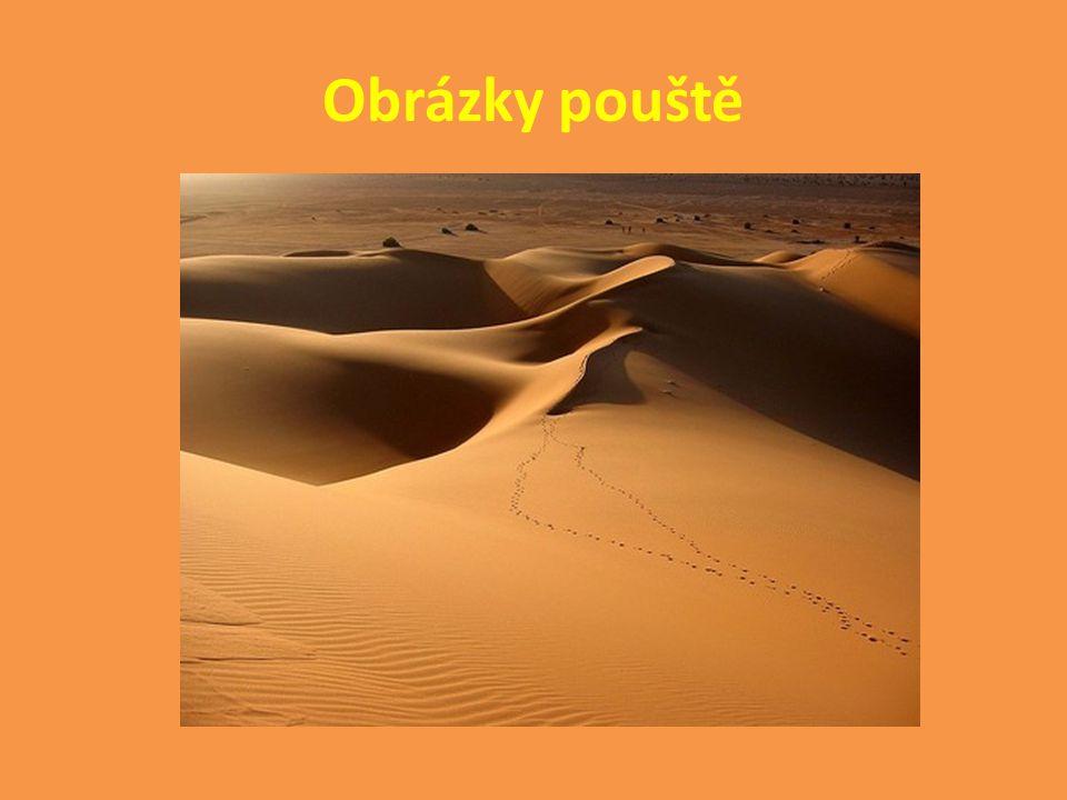 Obrázky pouště