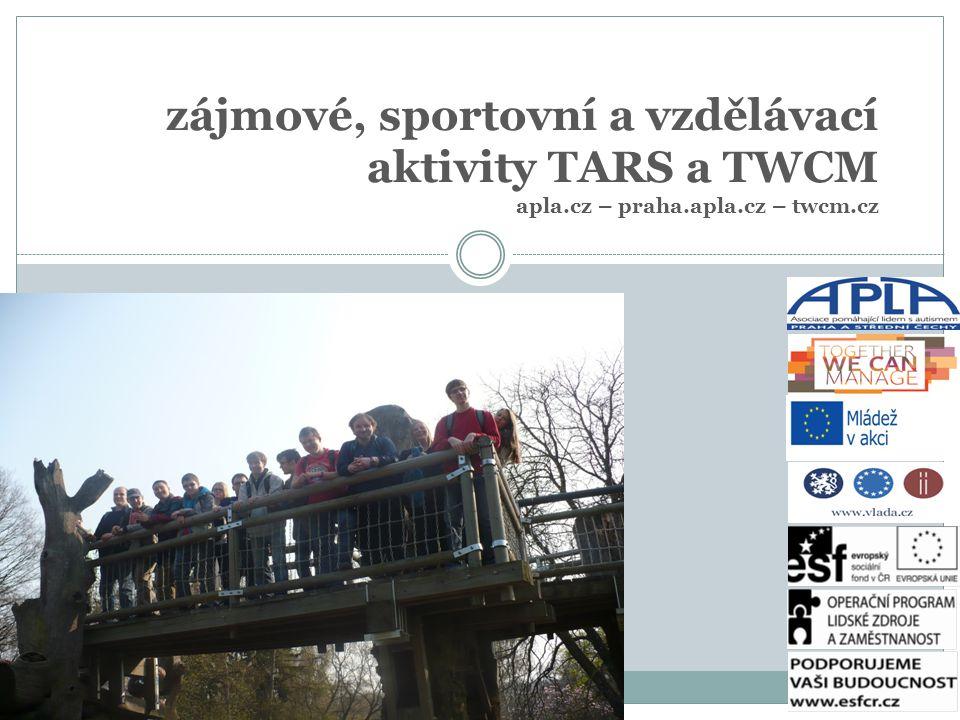 zájmové, sportovní a vzdělávací aktivity TARS a TWCM apla.cz – praha.apla.cz – twcm.cz