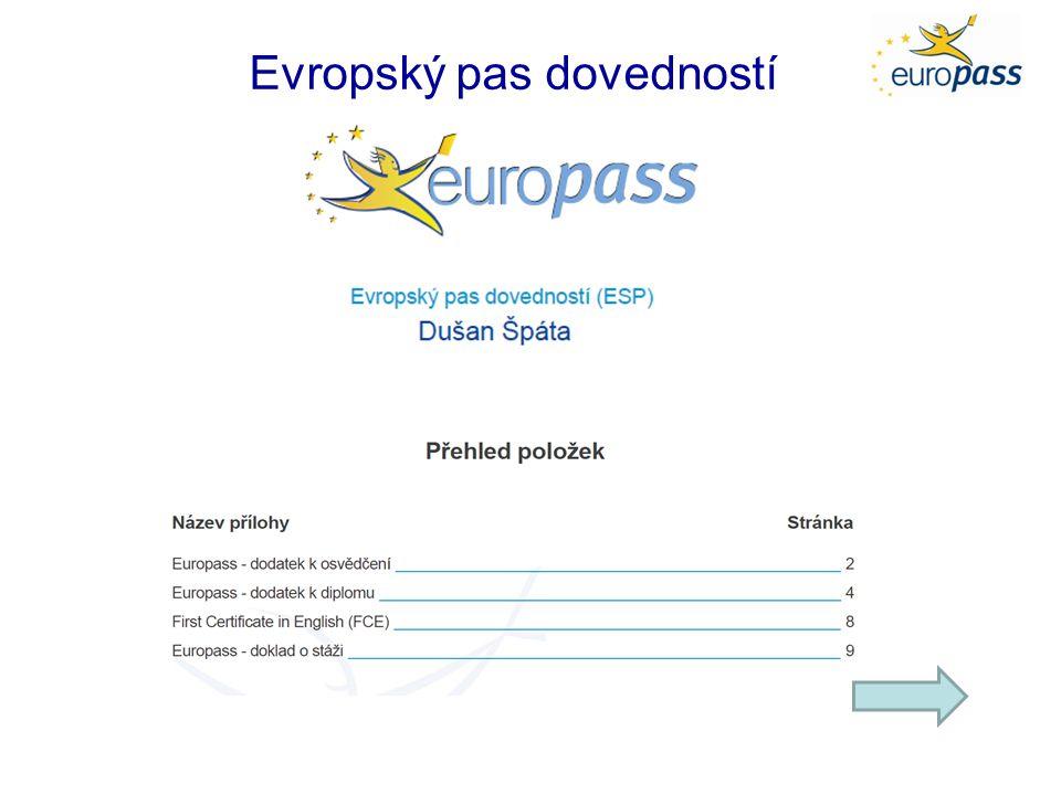 Evropský pas dovedností