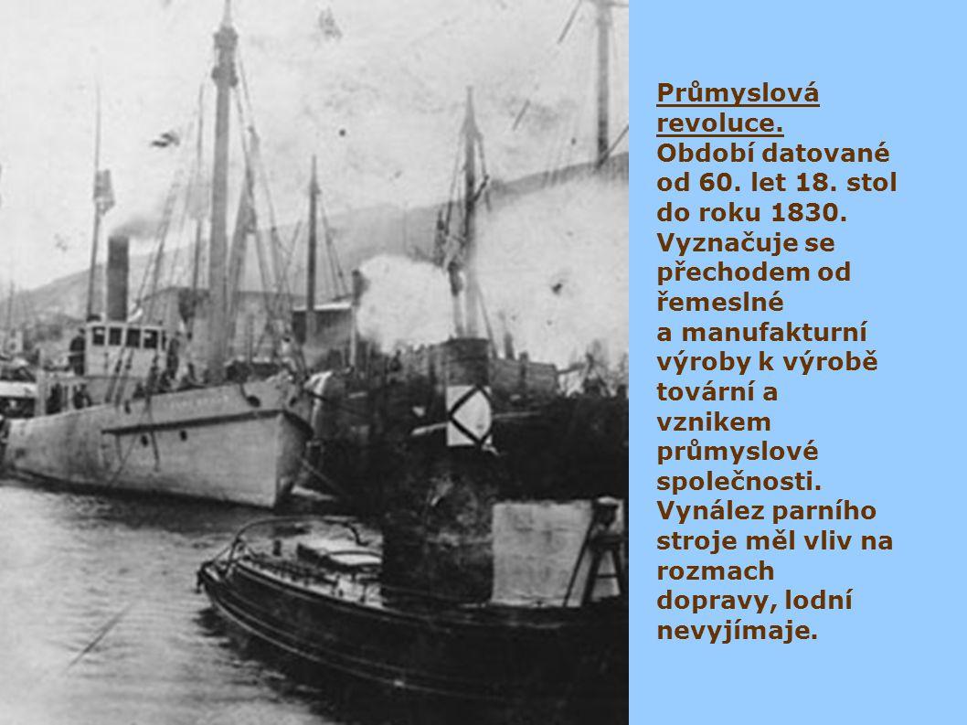 Šroubu nejdříve využil Archimédes pro své čepadlo, Leonardo da Vinci uvažoval nad jeho užítím k pohybu nejen lodí a ponorku Želva od Davida Bushnella již šroub poháněl.